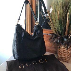 Gucci leather bamboo bag ❤️❤️❤️